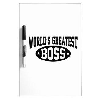 World's Greatest Boss Dry Erase Board