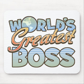 World's Greatest Boss Mousepad