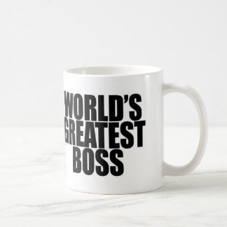 World's Greatest Boss Mug