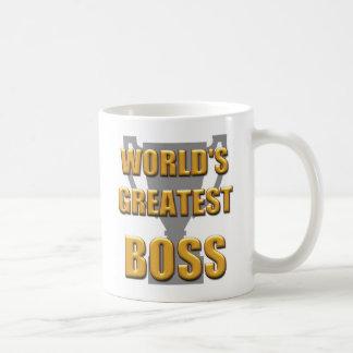 World's greatest Boss mug. Great for the office Coffee Mug