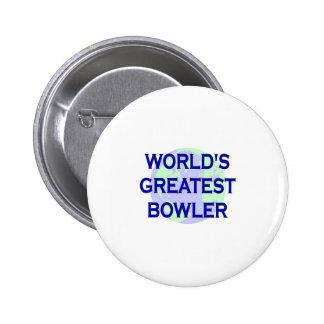 World's Greatest Bowler 6 Cm Round Badge