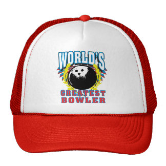 World's Greatest Bowler Mesh Hats