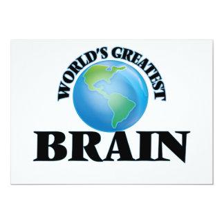 World's Greatest Brain Invitation