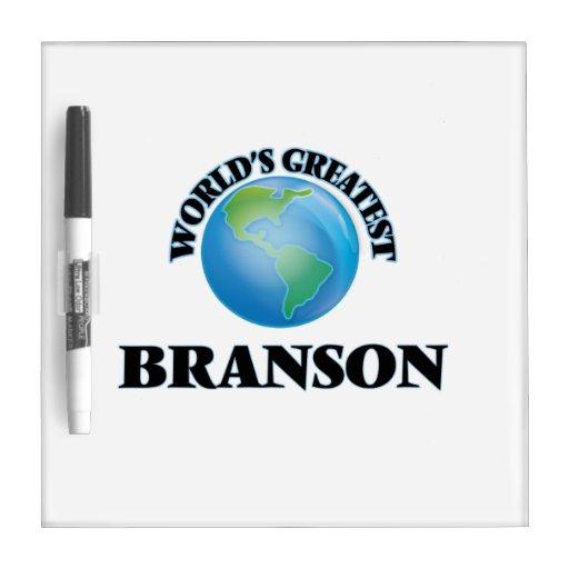 World's Greatest Branson Dry-Erase Whiteboard