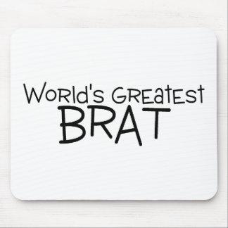 Worlds Greatest Brat Mousepad