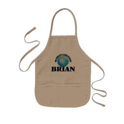 World's Greatest Brian Apron