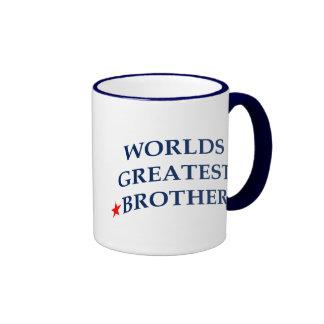 Worlds Greatest Brother Ringer Mug