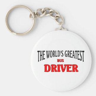 World's Greatest Bus Driver Key Ring