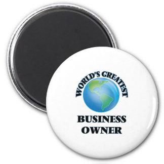 World's Greatest Business Owner Fridge Magnet