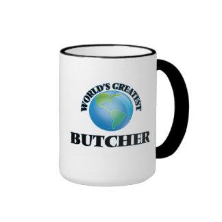 World's Greatest Butcher Ringer Coffee Mug
