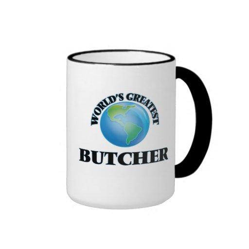 World's Greatest Butcher Coffee Mugs