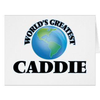 World's Greatest Caddie Cards