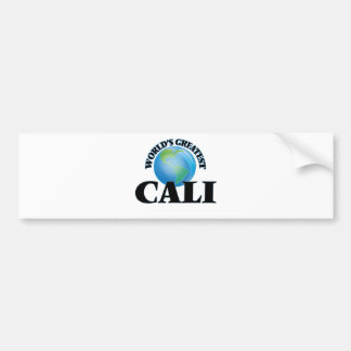 World's Greatest Cali Bumper Sticker