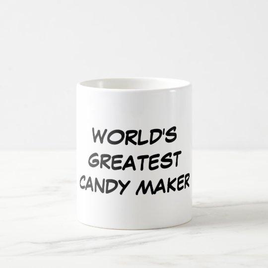 """World's Greatest Candy Maker"" Mug"