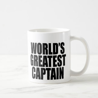 World's Greatest Captain Coffee Mug