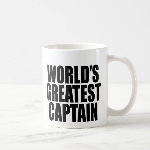World's Greatest Captain Mug