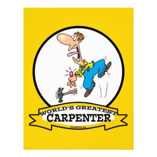 WORLDS GREATEST CARPENTER II MEN CARTOON 21.5 CM X 28 CM FLYER
