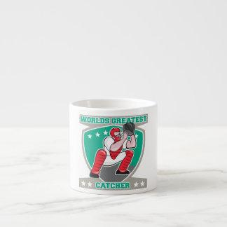 Worlds Greatest Catcher Espresso Cups