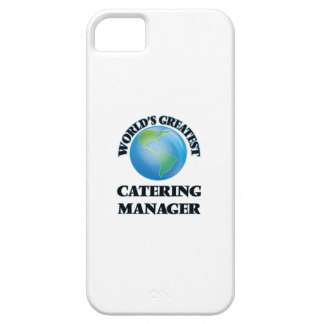 World's Greatest Catering Manager iPhone 5 Case
