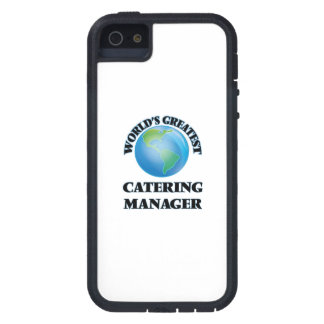 World's Greatest Catering Manager Cover For iPhone 5