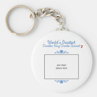 Worlds Greatest Cavalier King Charles Spaniel Key Chain