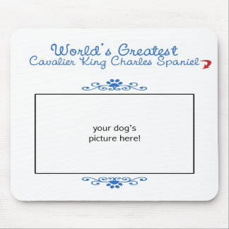 Worlds Greatest Cavalier King Charles Spaniel Mouse Pads