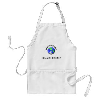 World's Greatest Ceramics Designer Standard Apron