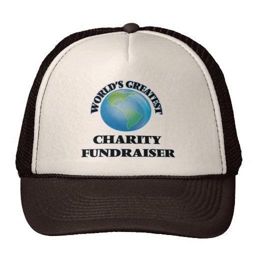 World's Greatest Charity Fundraiser Mesh Hats