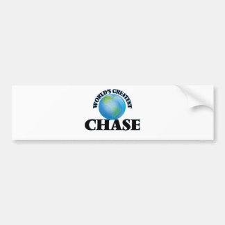 World's Greatest Chase Bumper Stickers