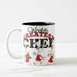 Worlds Greatest Chef Gift Coffee Mugs