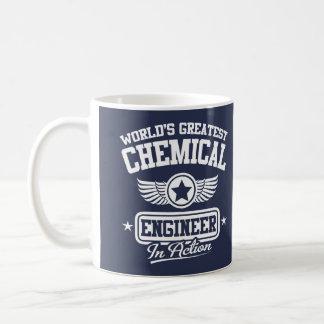 World's Greatest Chemical Engineer In Action Basic White Mug