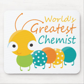 World's Greatest Chemist Mouse Pads
