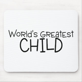 Worlds Greatest Child Mouse Pad