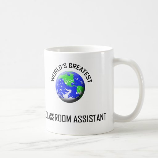 World's Greatest Classroom Assistant Mugs