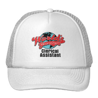 Worlds Greatest Clerical Assistant Cap
