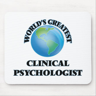 World's Greatest Clinical Psychologist Mouse Pad