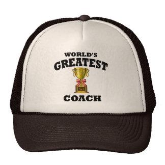 World's Greatest Coach Mesh Hats