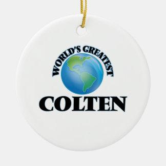 World's Greatest Colten Ornament