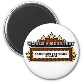 World's Greatest Computer Forensics Analyst Magnet