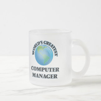 World's Greatest Computer Manager Coffee Mugs