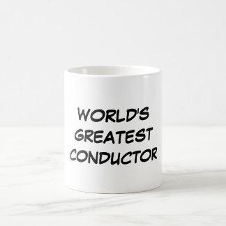 """World's Greatest Conductor"" Mug"
