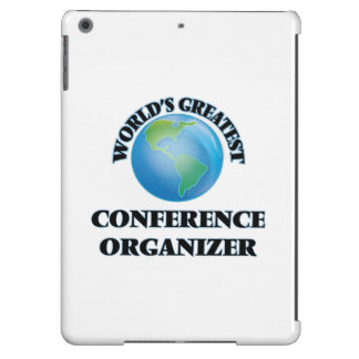 World's Greatest Conference Organizer iPad Air Case