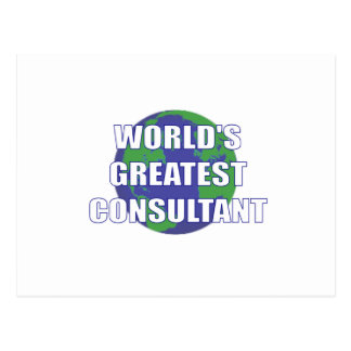 World's Greatest Consultant Postcards
