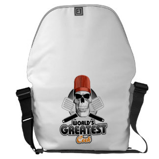 World's Greatest Cook v1 Courier Bags