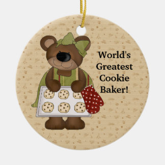 World's Greatest Cookie Baker Christmas Ornament