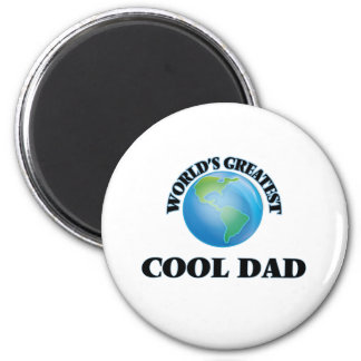 World's Greatest Cool Dad 6 Cm Round Magnet
