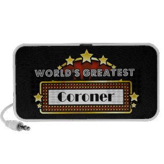 World's Greatest Coroner Travelling Speaker
