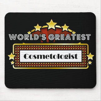 World's Greatest Cosmetologist Mousepad