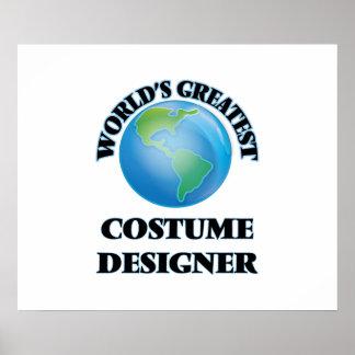 World's Greatest Costume Designer Print