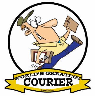 WORLDS GREATEST COURIER MEN CARTOON PHOTO CUTOUT